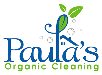 Paula's Organic Cleaning Services - Logo PNG